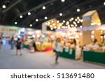 abstract blurred people in food ...   Shutterstock . vector #513691480