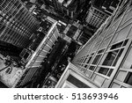top view from the skyscraper to ...   Shutterstock . vector #513693946