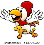 vector illustration of cartoon... | Shutterstock .eps vector #513704620