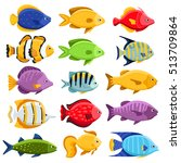 Funny Fish Vector Characters....