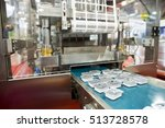 packing machine is shown at a... | Shutterstock . vector #513728578