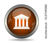 building icon. internet button... | Shutterstock . vector #513749080