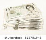 Vintage Looking Pound Banknote...