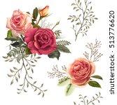 illustration of beautiful... | Shutterstock . vector #513776620