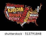 stylish usa map with multicolor ... | Shutterstock .eps vector #513791848