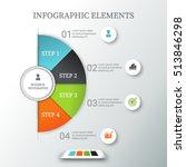 describe business data  process ... | Shutterstock .eps vector #513846298