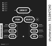 organization chart template...   Shutterstock .eps vector #513847240