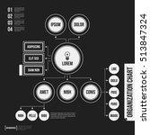 organization chart template...   Shutterstock .eps vector #513847324