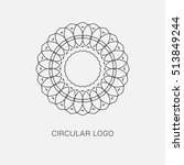 logo design template  creative... | Shutterstock .eps vector #513849244