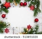 christmas background   ... | Shutterstock . vector #513851020