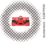racing background checkered... | Shutterstock .eps vector #513879550