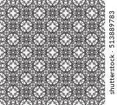 vector seamless pattern. modern ... | Shutterstock .eps vector #513889783