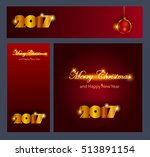 merry christmas and happy new... | Shutterstock .eps vector #513891154