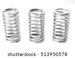 metal stainless spring spare... | Shutterstock . vector #513950578
