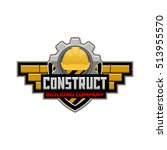 construct logo | Shutterstock .eps vector #513955570