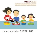 illustration vector of fun... | Shutterstock .eps vector #513971788