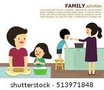 illustration vector of fun... | Shutterstock .eps vector #513971848