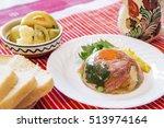 meat aspic   romanian... | Shutterstock . vector #513974164