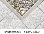floor design with terrace tiles ... | Shutterstock . vector #513976360