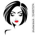 illustration of woman short...   Shutterstock .eps vector #514007374