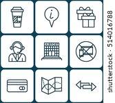 set of consumer journey icons...   Shutterstock .eps vector #514016788