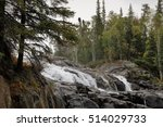 Cameron Falls at the Hidden Lake Trail/ Autumn in Yellowknife/ Northwest Territories