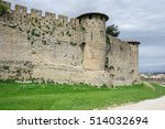 Medieval Castle And City Of...