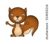 animal cartoon icon image  | Shutterstock .eps vector #514033216