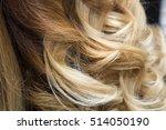 beautiful natural hair.... | Shutterstock . vector #514050190