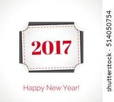 vector illustration. happy new... | Shutterstock .eps vector #514050754
