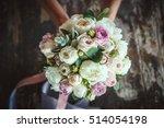 flower  bouquet  love  day ... | Shutterstock . vector #514054198