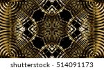 gold metal background | Shutterstock . vector #514091173