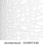 abstract architectural design | Shutterstock .eps vector #514097140