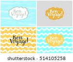 set of four cards  vector... | Shutterstock .eps vector #514105258