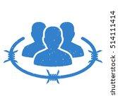 strict management rubber seal... | Shutterstock .eps vector #514111414