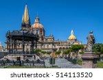 guadalajara cathedral  ... | Shutterstock . vector #514113520