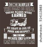 typography  tshirt design ...   Shutterstock .eps vector #514113883