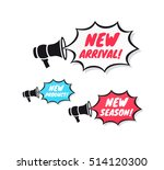 new arrival  new product   new... | Shutterstock .eps vector #514120300