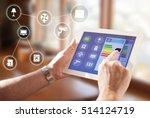 smart home  intelligent house... | Shutterstock . vector #514124719