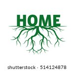 forest and roots. vector... | Shutterstock .eps vector #514124878