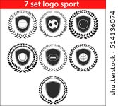sport logo design illustration... | Shutterstock .eps vector #514136074
