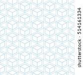 hexagon seamless background. | Shutterstock .eps vector #514161334