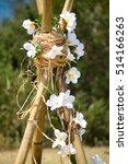 Frangipani Flowers Teepee