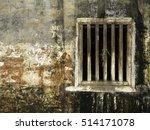wooden bar widow antique... | Shutterstock . vector #514171078