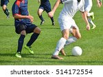 soccer players in action on the ... | Shutterstock . vector #514172554