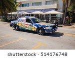 usa  florida. miami beach.... | Shutterstock . vector #514176748