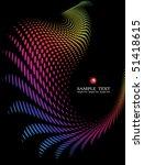 background composition  web... | Shutterstock .eps vector #51418615
