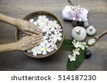 spa treatment and product for... | Shutterstock . vector #514187230