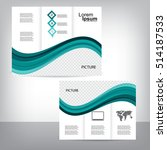 business brochure design | Shutterstock .eps vector #514187533