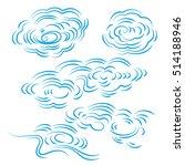 china   cloud cloud wind skies... | Shutterstock .eps vector #514188946